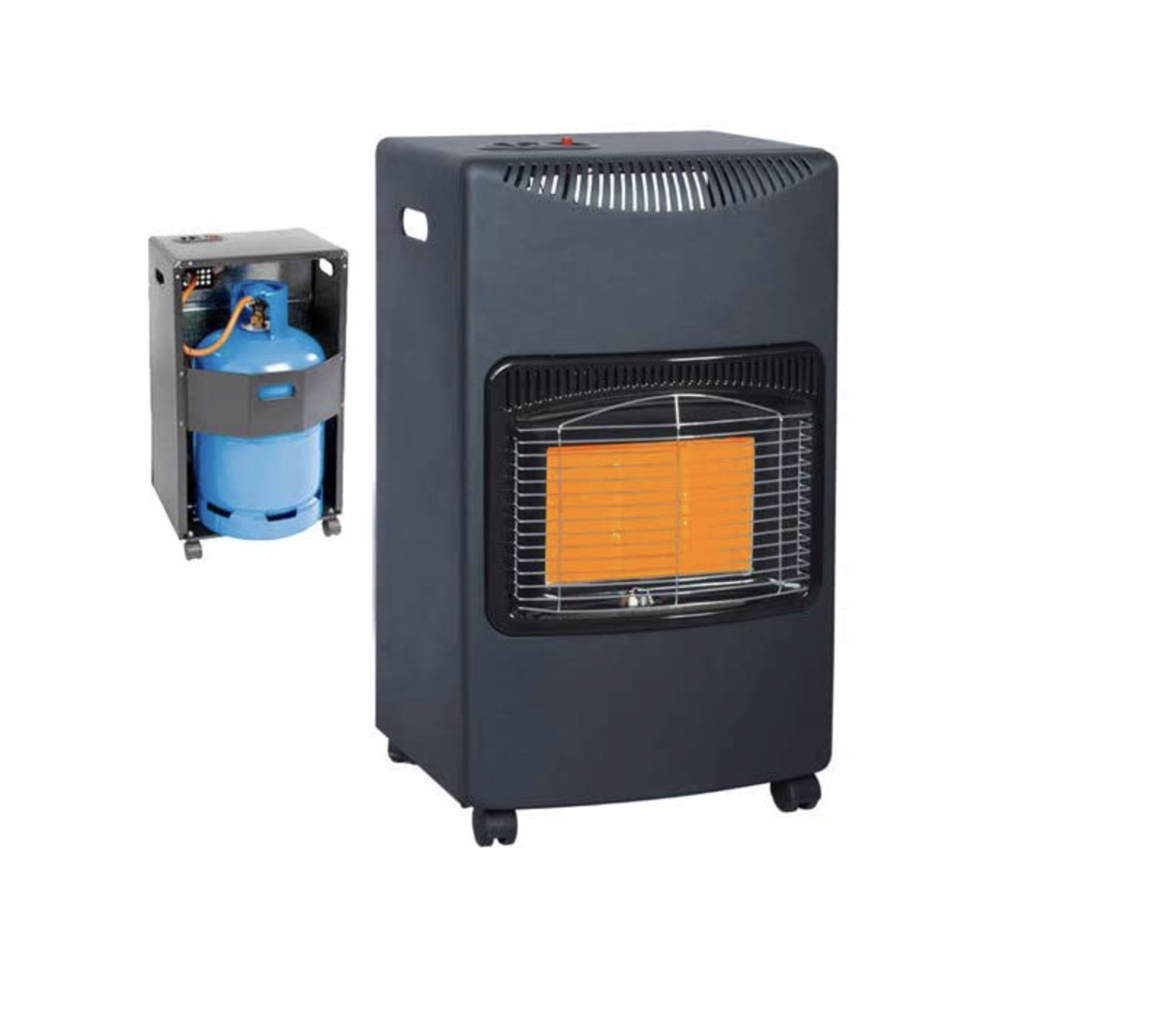 CALOR GAS HEATER AND BOTTLE PACKAGE
